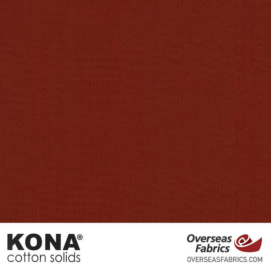 "Kona Cotton Solids Cocoa - 44"" wide - Robert Kaufman quilting fabric"
