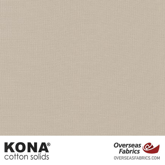 "Kona Cotton Solids Doeskin - 44"" wide - Robert Kaufman quilting fabric"