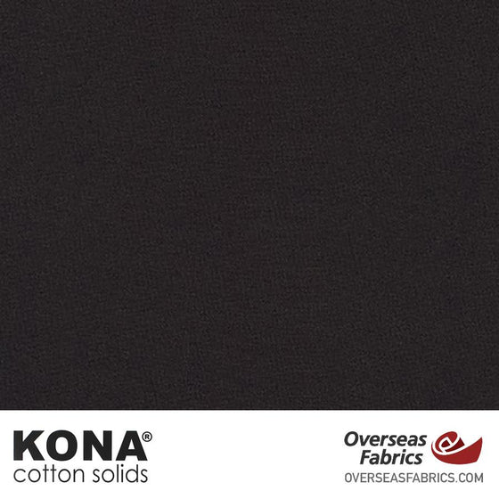 "Kona Cotton Solids Espresso - 44"" wide - Robert Kaufman quilting fabric"