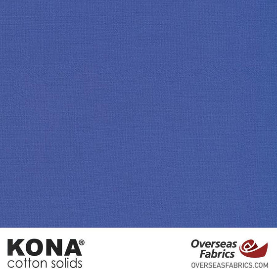 "Kona Cotton Solids Lapis - 44"" wide - Robert Kaufman quilting fabric"