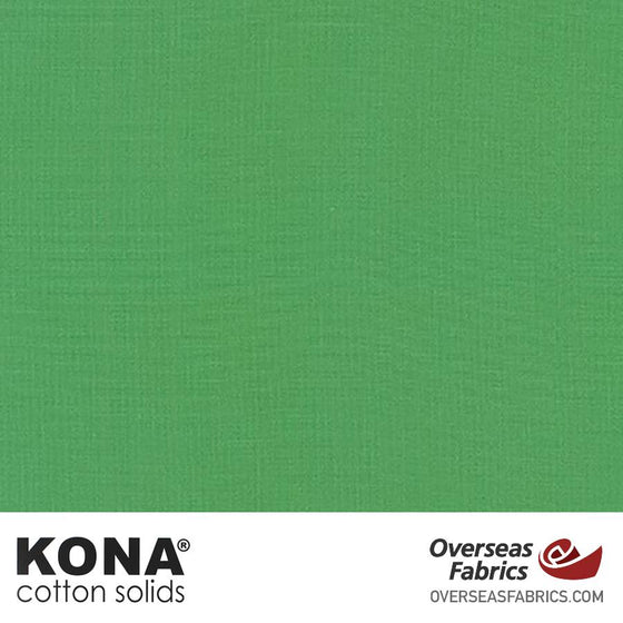 "Kona Cotton Solids Leaf - 44"" wide - Robert Kaufman quilting fabric"