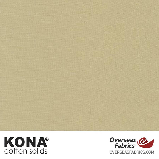 "Kona Cotton Solids Limestone - 44"" wide - Robert Kaufman quilting fabric"