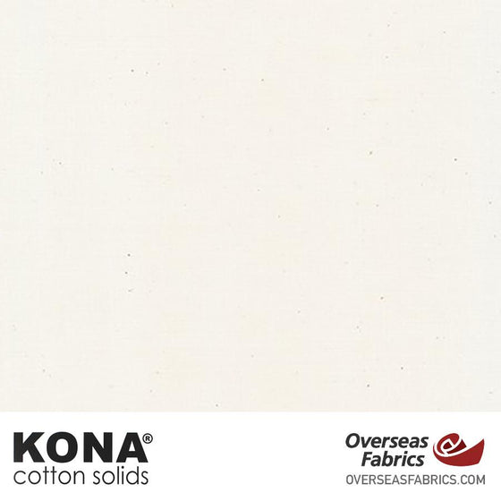 "Kona Cotton Solids Natural - 44"" wide - Robert Kaufman quilting fabric"