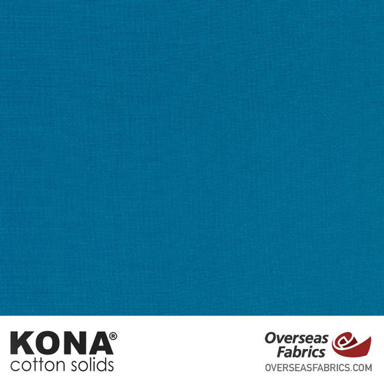 "Kona Cotton Solids Oasis - 44"" wide - Robert Kaufman quilting fabric"