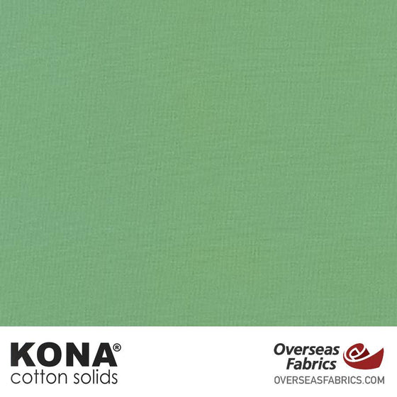 "Kona Cotton Solids Old Green - 44"" wide - Robert Kaufman quilting fabric"