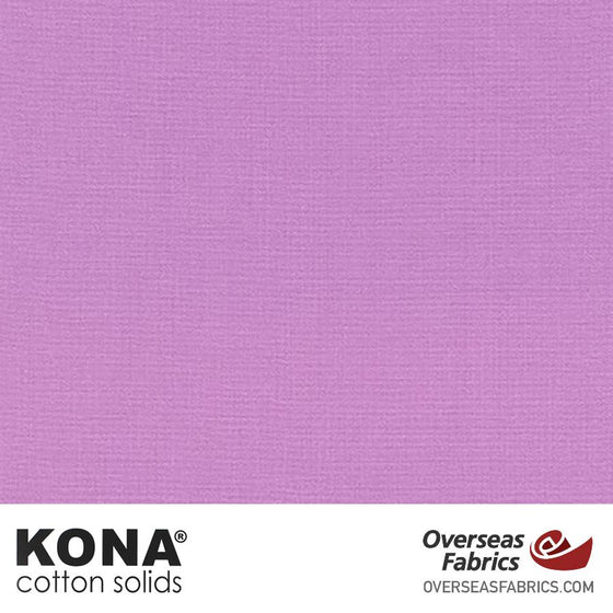 "Kona Cotton Solids Pansy - 44"" wide - Robert Kaufman quilting fabric"