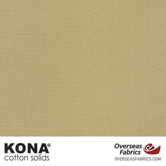 "Kona Cotton Solids Parsley - 44"" wide - Robert Kaufman quilting fabric"