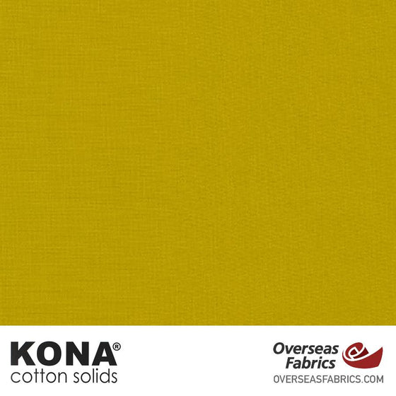 "Kona Cotton Solids Pickle - 44"" wide - Robert Kaufman quilting fabric"