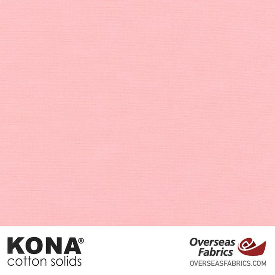 "Kona Cotton Solids Pink - 44"" wide - Robert Kaufman quilting fabric"