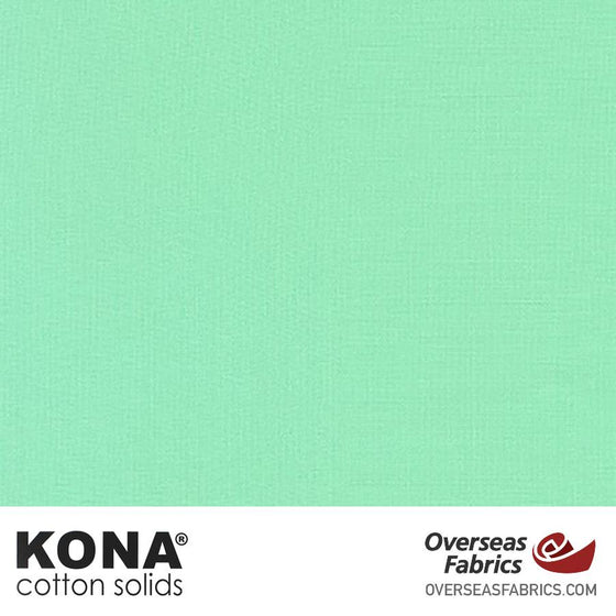 "Kona Cotton Solids Pond - 44"" wide - Robert Kaufman quilting fabric"