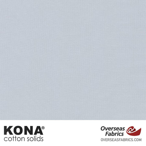 "Kona Cotton Solids Quicksilver - 44"" wide - Robert Kaufman quilting fabric"