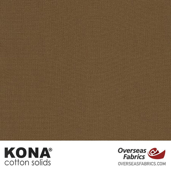 "Kona Cotton Solids Sable - 44"" wide - Robert Kaufman quilting fabric"