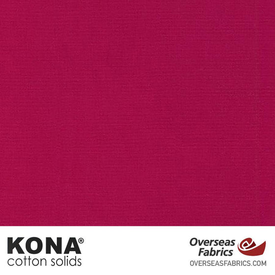 "Kona Cotton Solids Sangria - 44"" wide - Robert Kaufman quilting fabric"