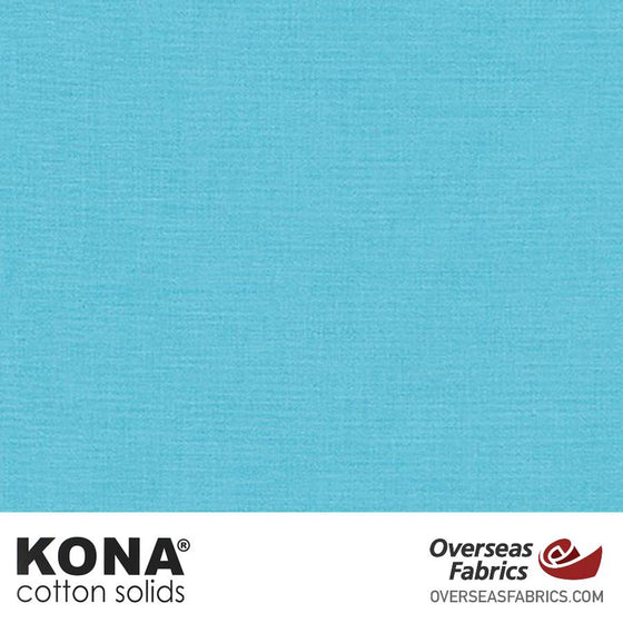 "Kona Cotton Solids Seascape - 44"" wide - Robert Kaufman quilting fabric"
