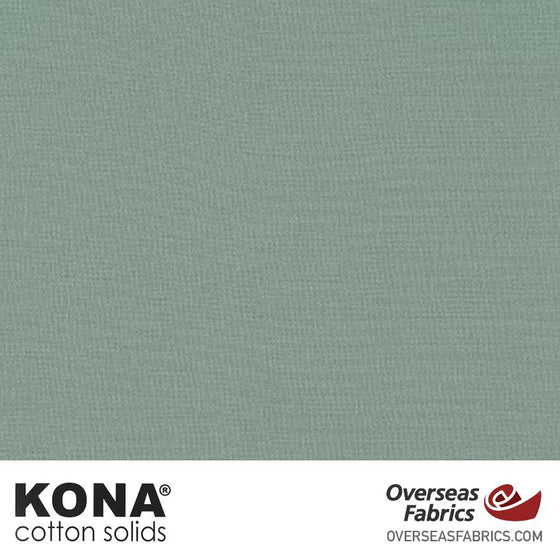 "Kona Cotton Solids Shale - 44"" wide - Robert Kaufman quilting fabric"