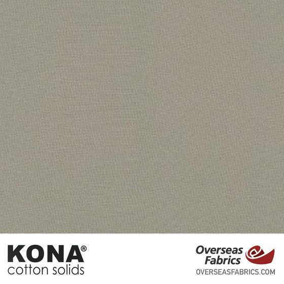 "Kona Cotton Solids Smoke - 44"" wide - Robert Kaufman quilting fabric"