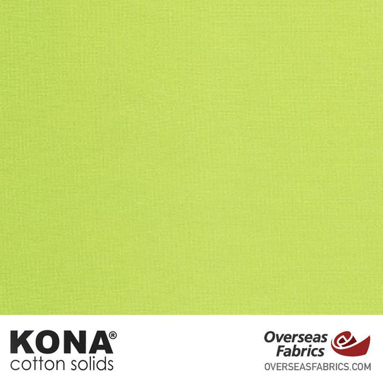 "Kona Cotton Solids Sprout - 44"" wide - Robert Kaufman quilting fabric"