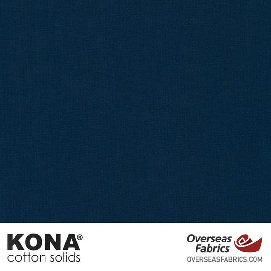 "Kona Cotton Solids Storm - 44"" wide - Robert Kaufman quilting fabric"