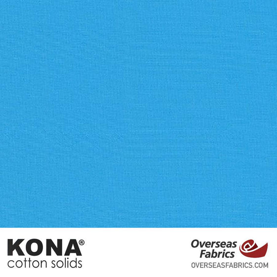 "Kona Cotton Solids Stratosphere - 44"" wide - Robert Kaufman quilting fabric"
