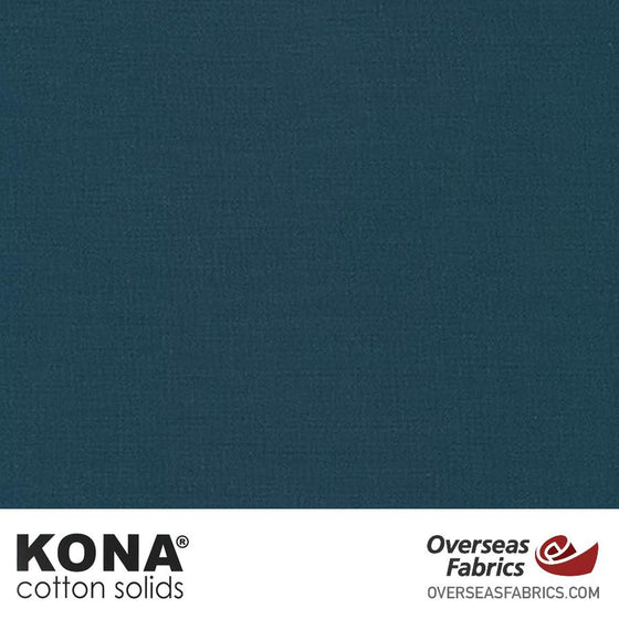 "Kona Cotton Solids Windsor - 44"" wide - Robert Kaufman quilting fabric"