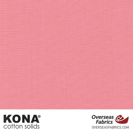 "Kona Cotton Solids Woodrose - 44"" wide - Robert Kaufman quilting fabric"