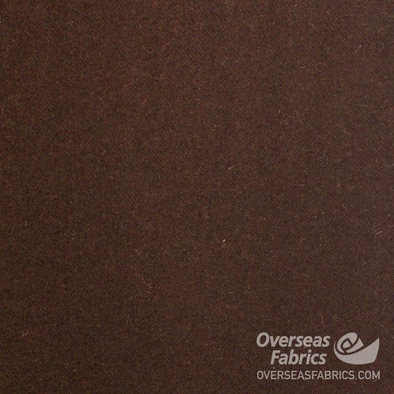 "Melton Wool 60"" - Brown"