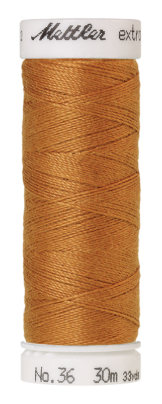 Mettler Extra Strong Polyester Thread, 30m - #0174 Ashley Gold