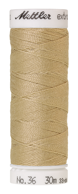 Mettler Extra Strong Polyester Thread, 30m - #0265 Ivory