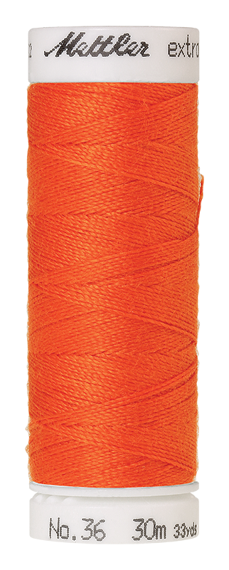 Mettler Extra Strong Polyester Thread, 30m - #0451 Flame