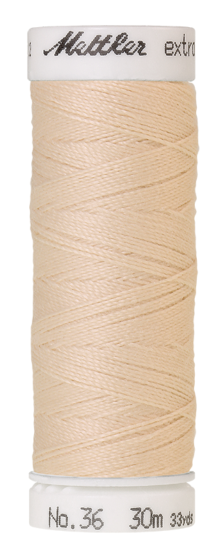 Mettler Extra Strong Polyester Thread, 30m - #3000 Candlewick