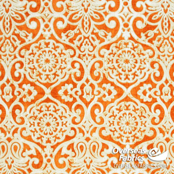 "Bryant Outdoor Fabric 54"" - Miranda, Mango"
