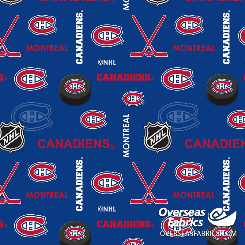 *PRE-ORDER Aug/Sept 2020* NHL Flannelette - Montreal Canadiens