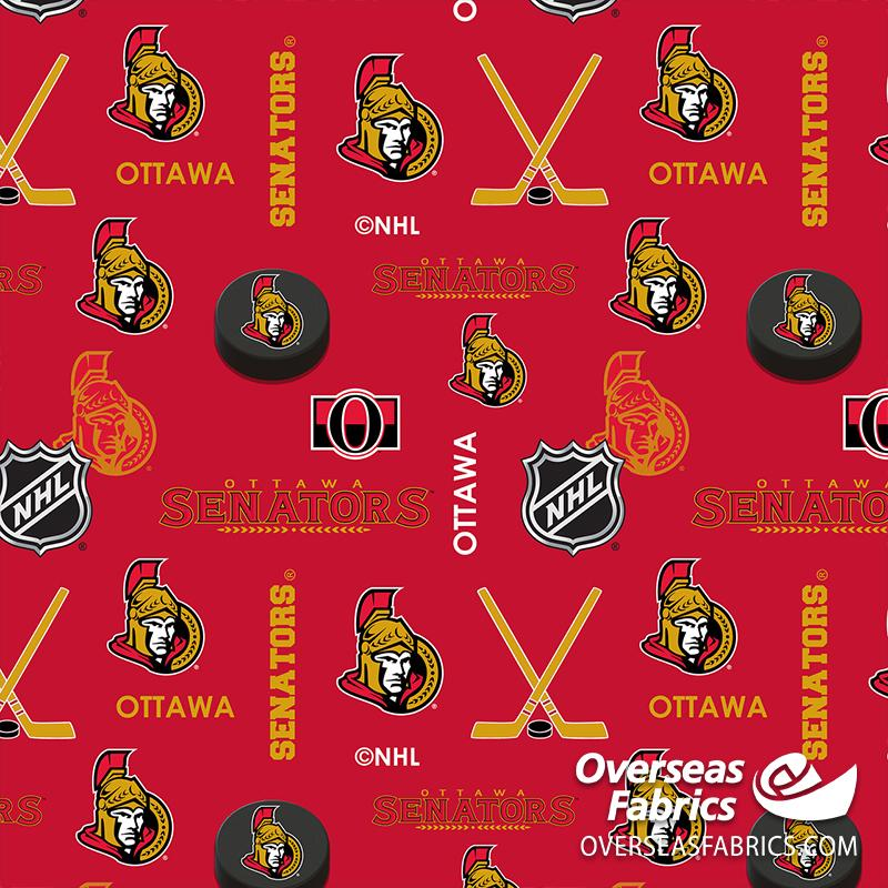 **DELAYED** Pre-Order Late Dec 2020 NHL Flannelette - Ottawa Senators (See Description before ordering)