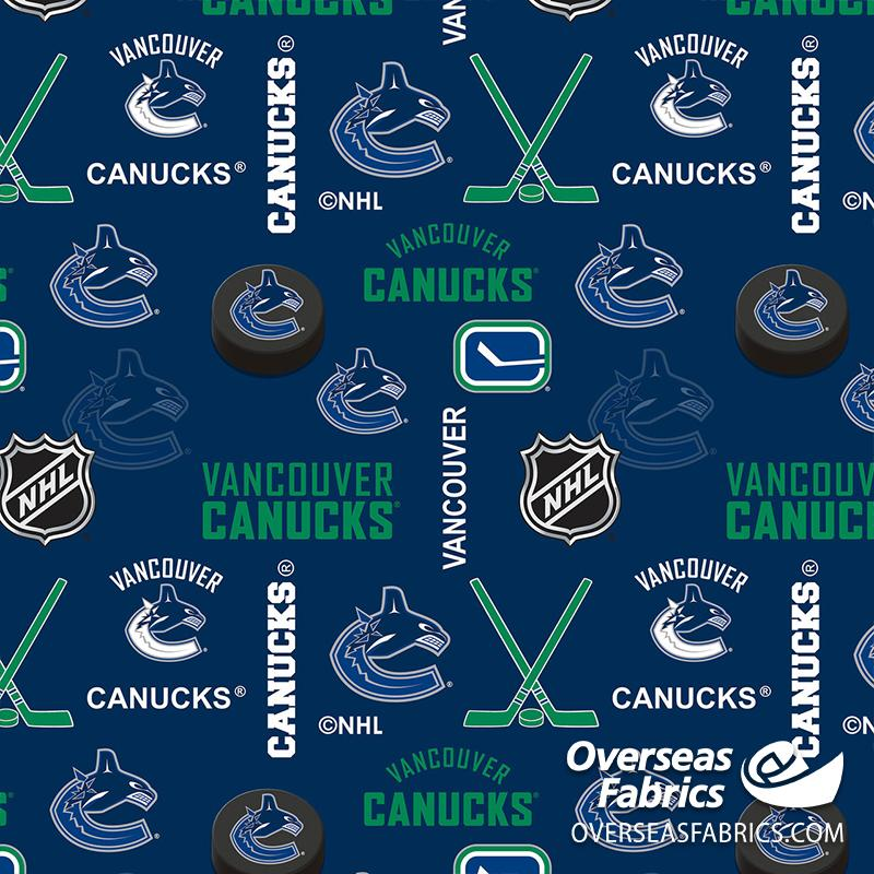 *PRE-ORDER Aug/Sept 2020* NHL Flannelette - Vancouver Canucks