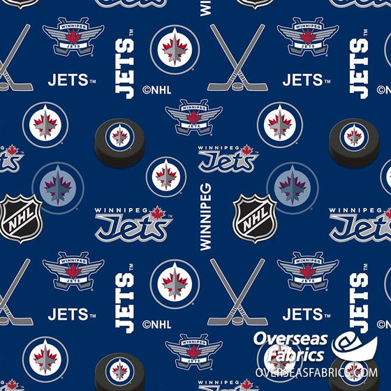 *PRE-ORDER Aug/Sept 2020* NHL Flannelette - Winnipeg Jets