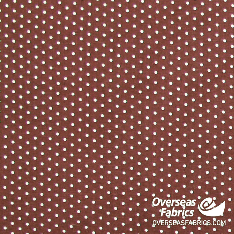 Polka Dots, Brown-White