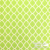 Quatrefoil, Lime Green