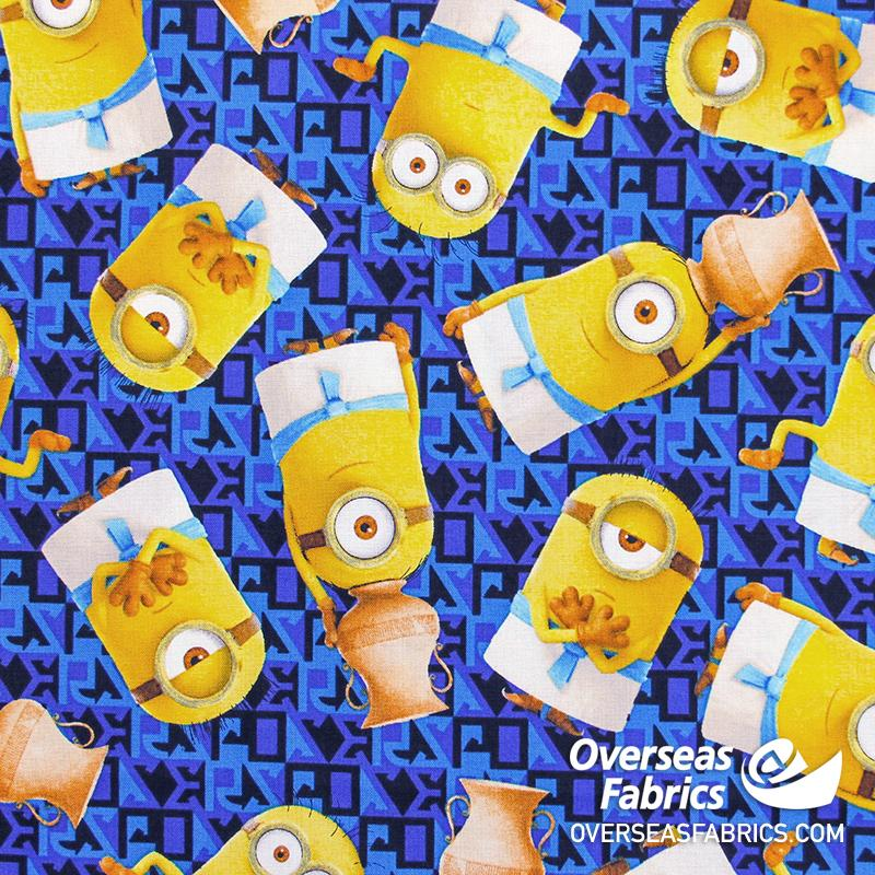 Quilting Treasures - Minions, Egyptian