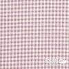 100% Sheeting Cotton - Gingham, Mauve
