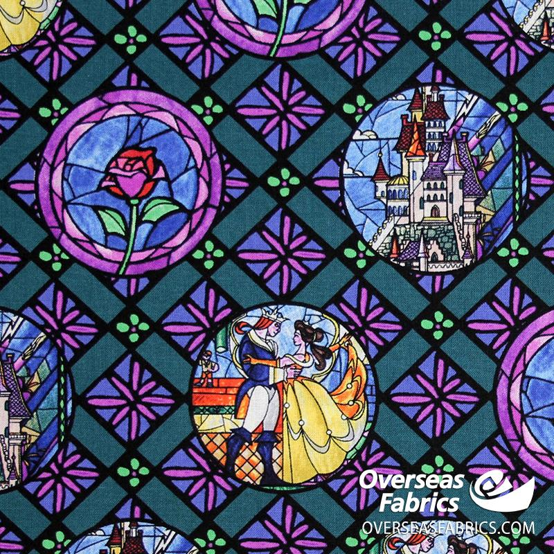 Springs Creative - Disney, Beauty and the Beast, Stain Glass Circles