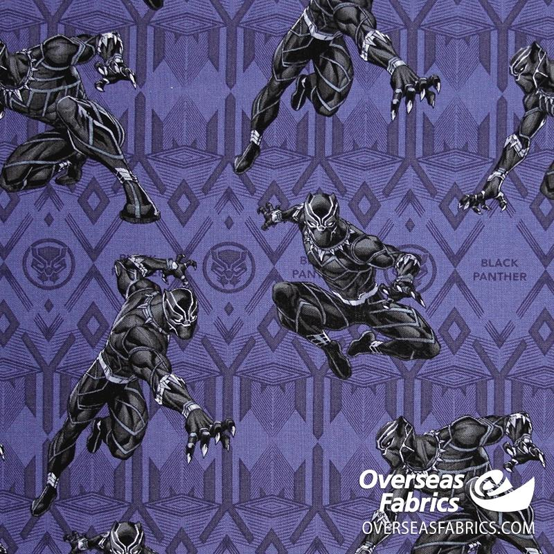 Springs Creative - Marvel, Black Panther in Action