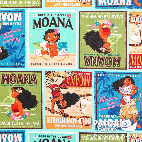 Disney - Moana, Badges (Springs Creative)