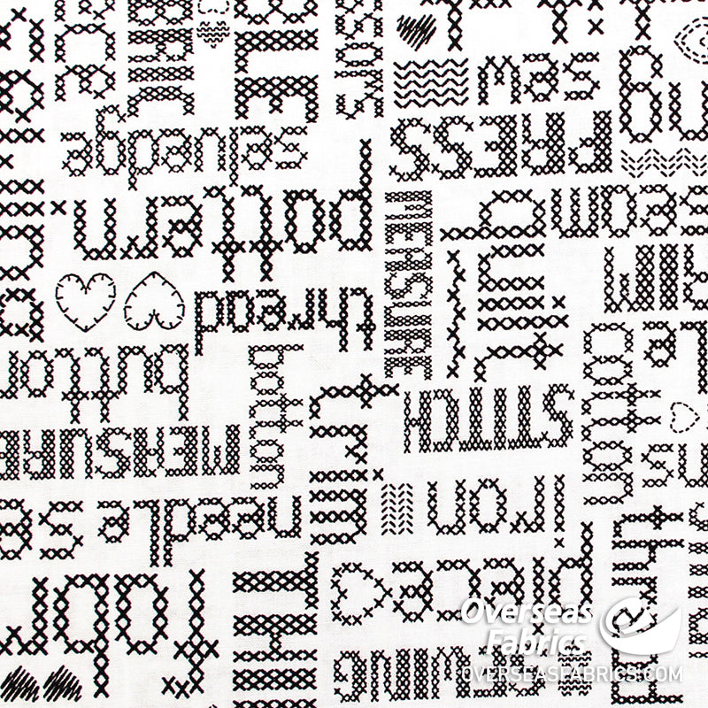 StudioE Fabrics - My Happy Place, Words