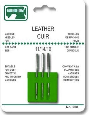 Tailorform - Leather Needles, Assorted