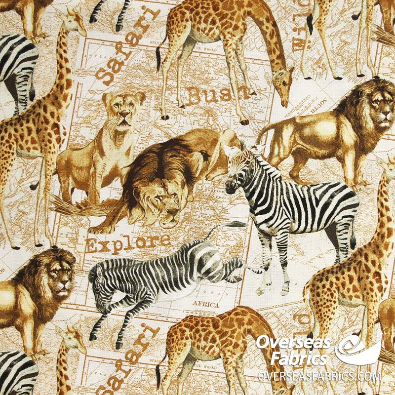 Windham Fabrics - Expedition, Safari