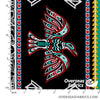 Windham Fabrics - Legend, Thunderbird Stripe, Black
