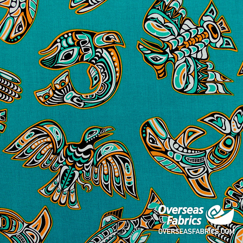 Windham Fabrics - Legend, Teal