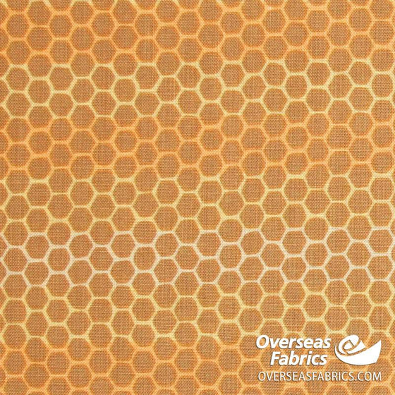 Windham Fabrics - Tell the Bees, Honeycomb, Yellow