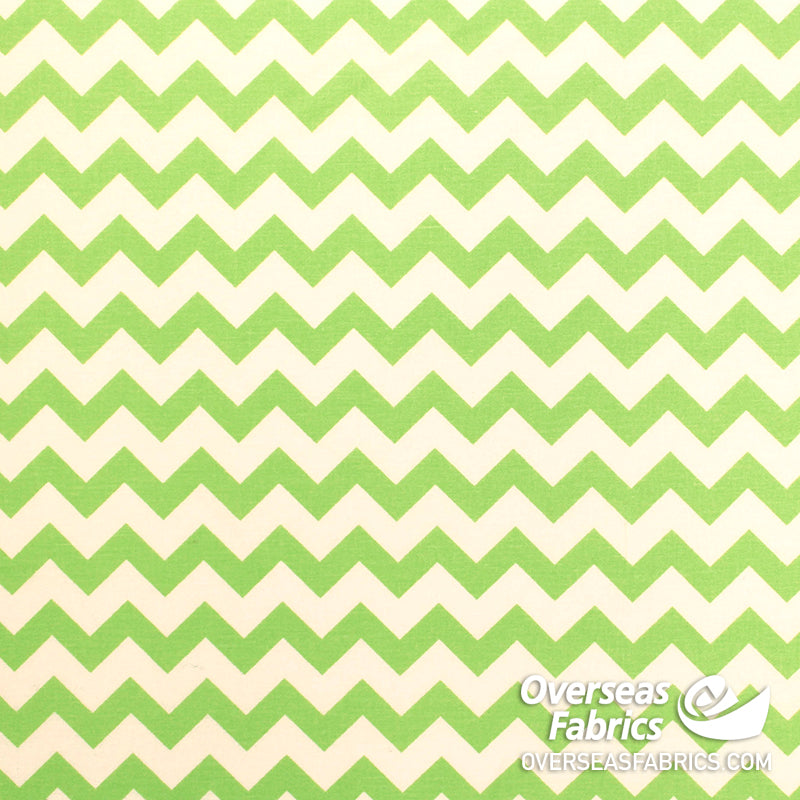 Zigzag, Lime Green