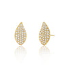 Droplet Studs with Diamonds